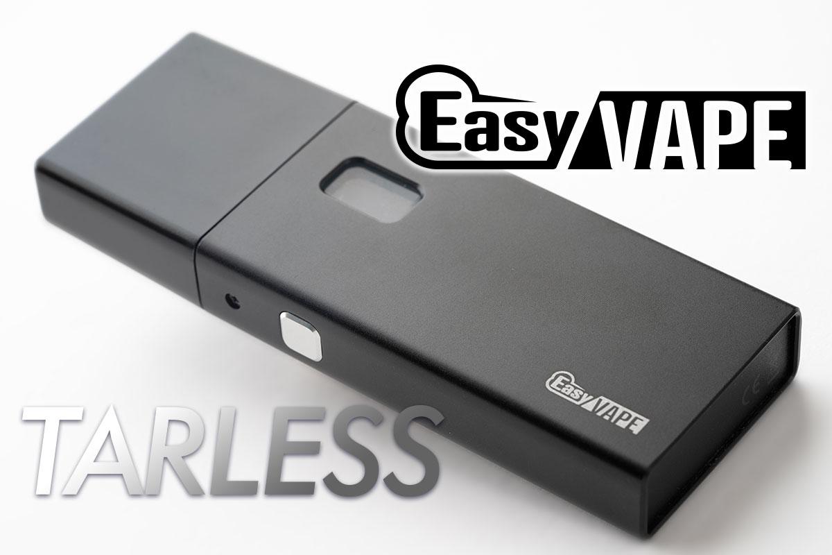 EasyVAPE TARLESS(イージーベイプ ターレス)レビュー
