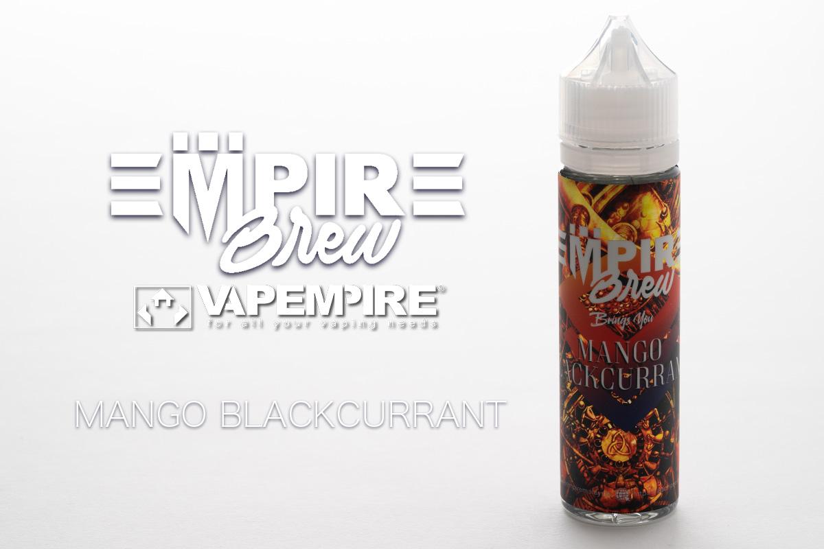 【リキッド】MANGO BLACKCURRANT「マンゴーブラックカラント」EMPIRE BREW レビュー