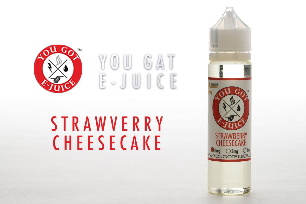 【リキッド】Strawberry Cheesecake「ストロベリーチーズケーキ」YOUGOT レビュー