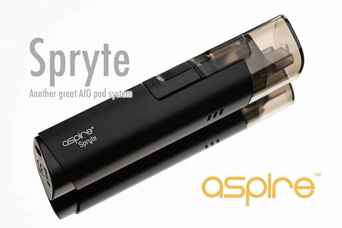 Aspire Spryte(アスパイア スプライト)レビュー