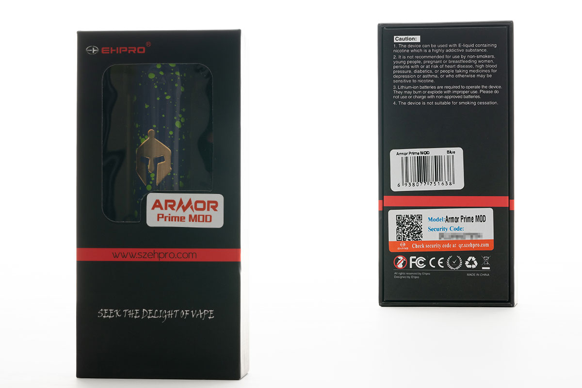 【EHPRO ARMOR Prime MOD】チューブ型テクニカルMOD レビュー