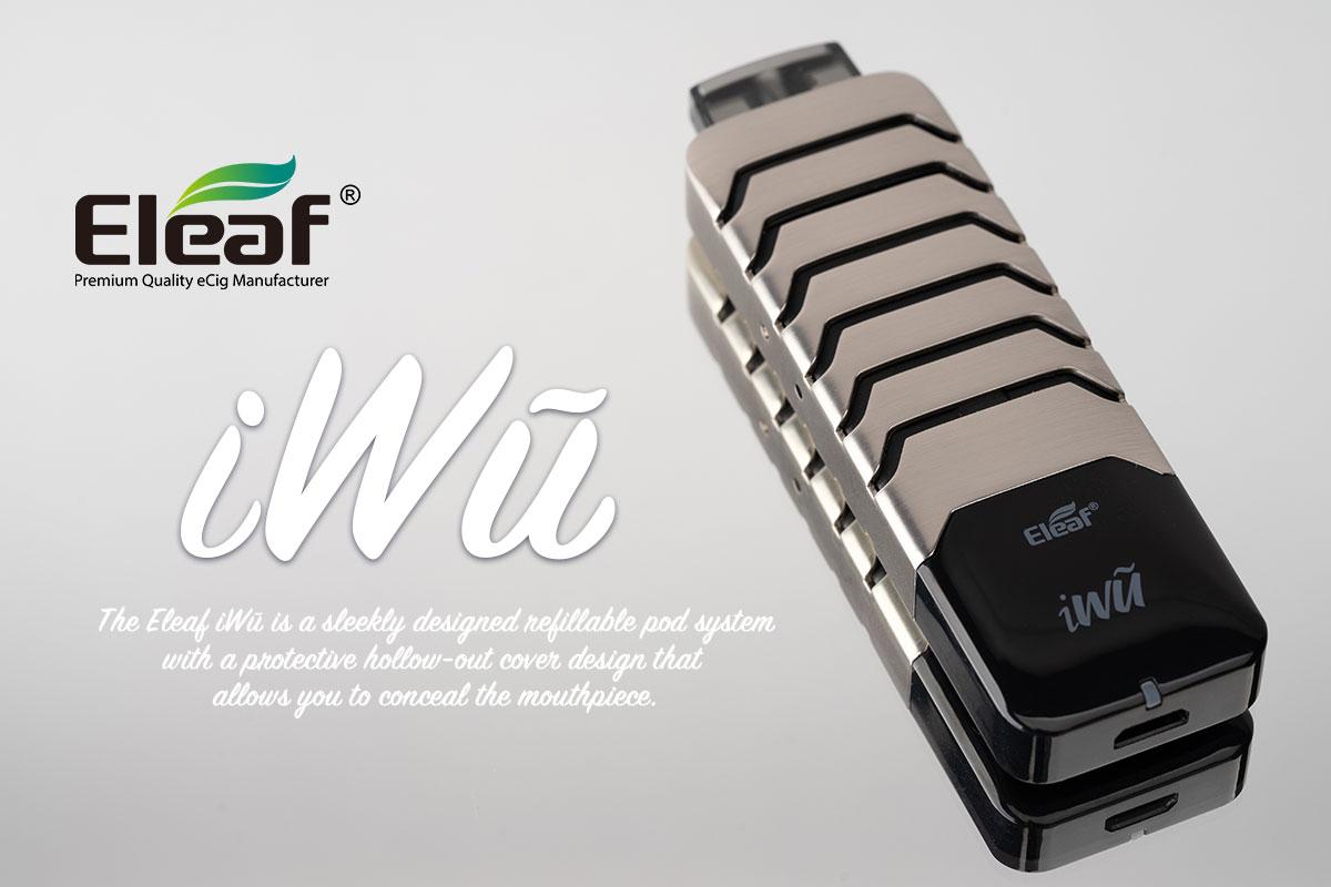 【Eleaf iWu】個性的なルックスのPODデバイス iWũ レビュー!