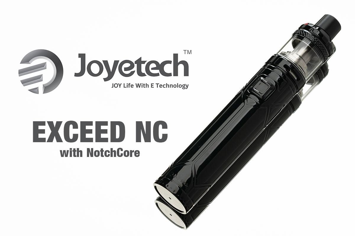 【Joyetech EXCEED NC】チューブタイプのスターターキット レビュー!