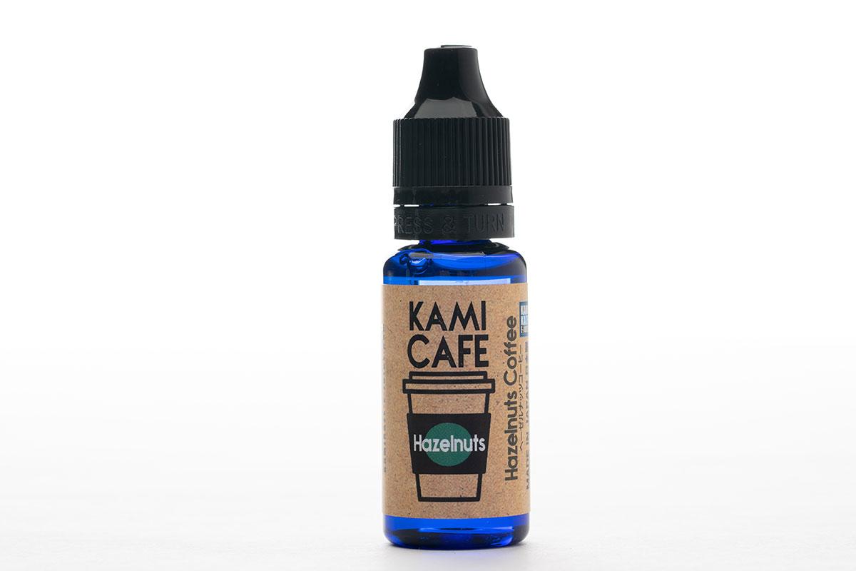 【リキッド】KAMIKAZE KAMI CAFE Hazelnuts Coffee レビュー
