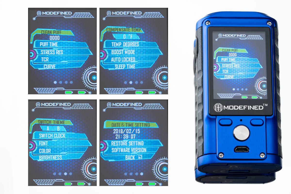 【MODEFINED Draco 200w】「ドラコ」テクニカルMOD レビュー