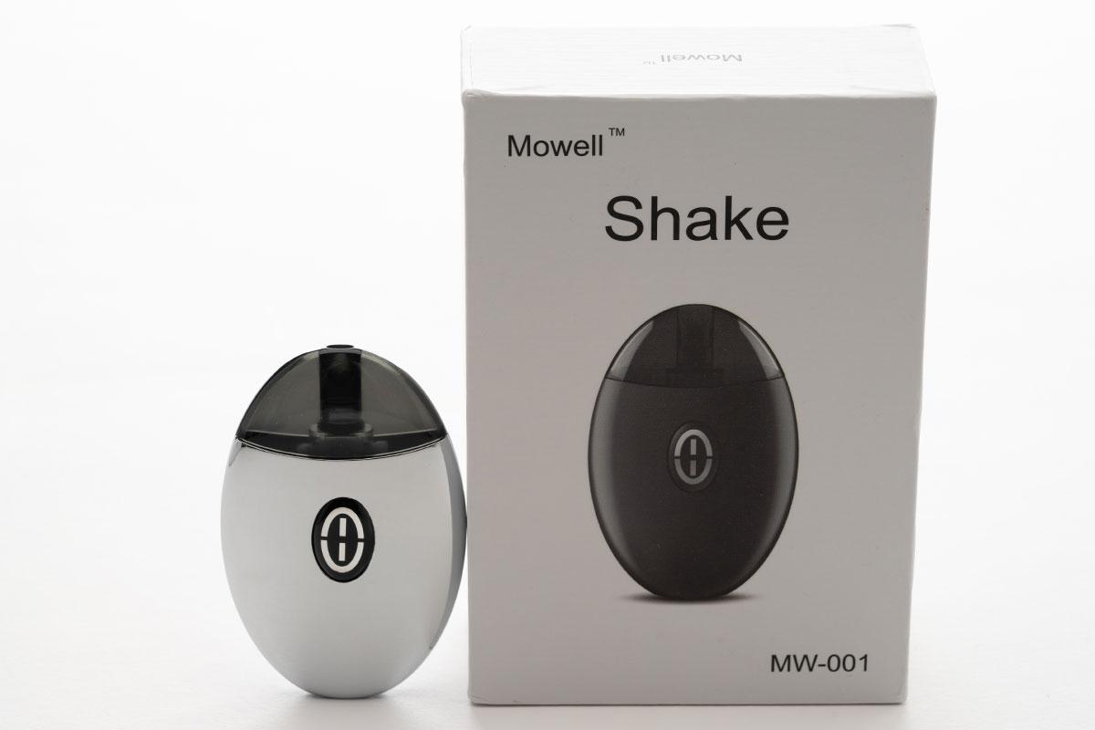 【Mowell shake】カワイイフォルムの薄型PODデバイス レビュー!