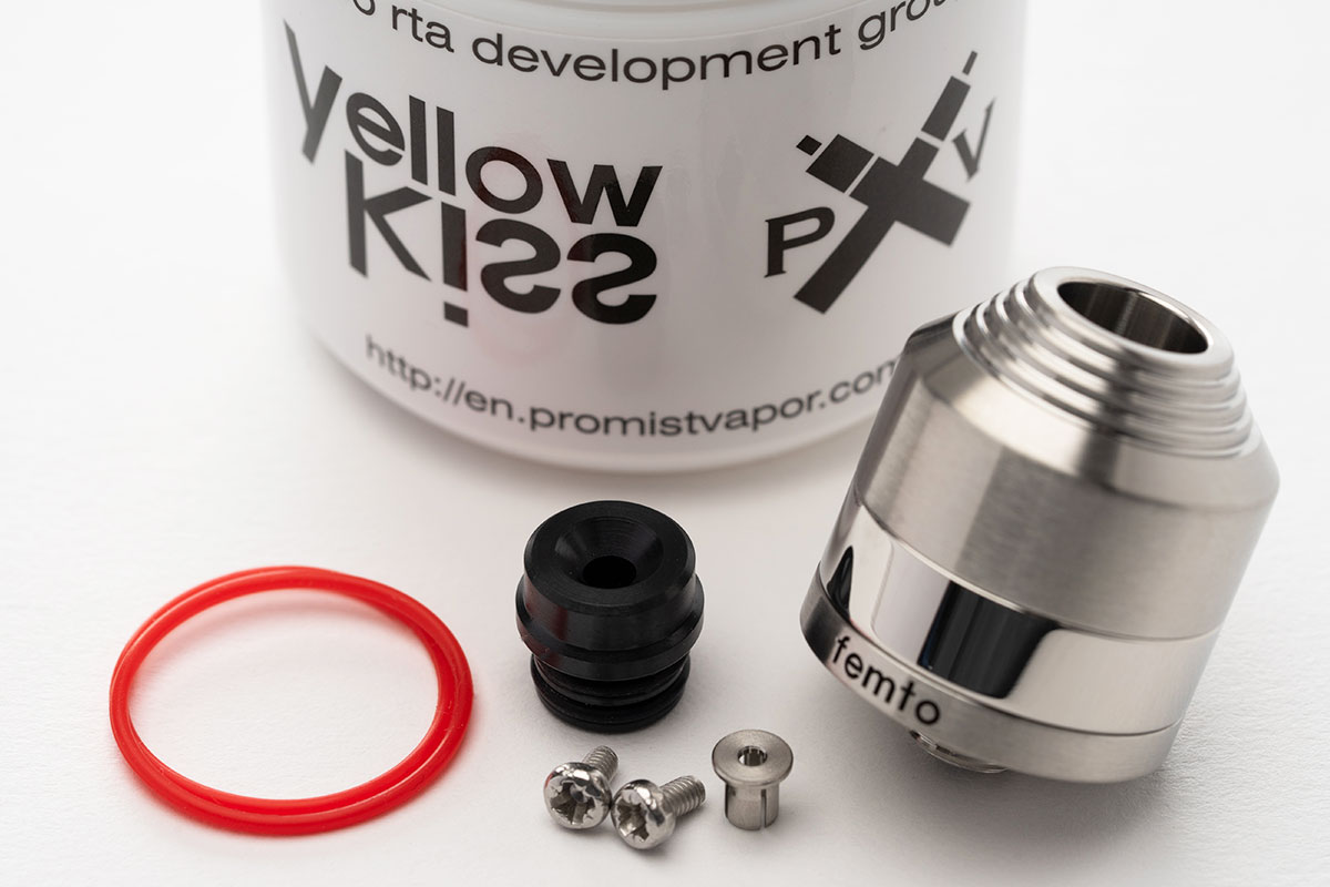 【Femto BF RDA】YellowKiss x Promist「フェムト」レビュー