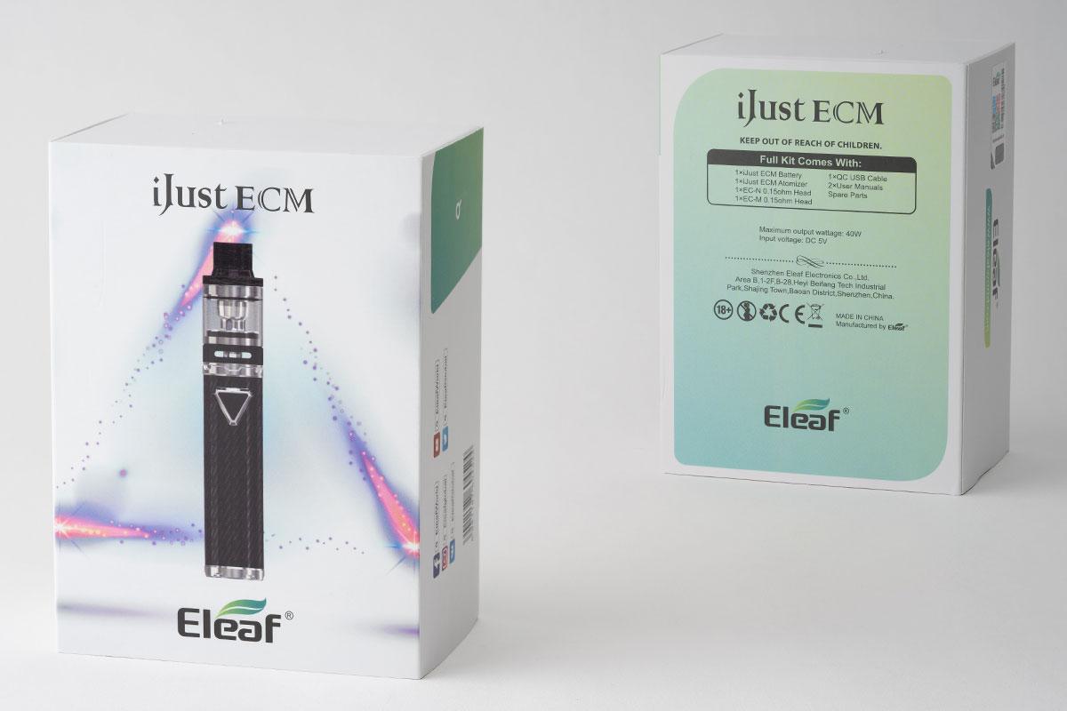 Eleaf iJust ECMレビュー