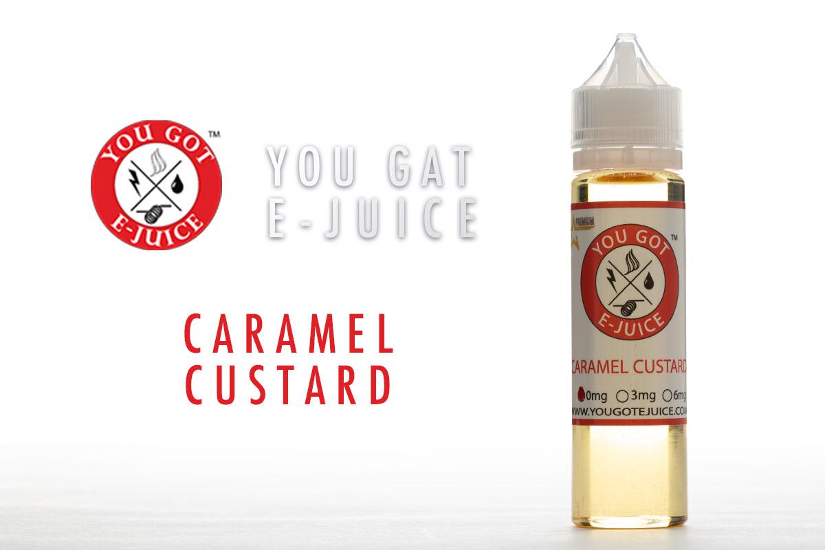 【リキッド】Caramel Custard / YOUGOT レビュー