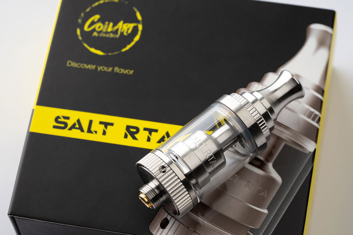 CoilART SALT RTAレビュー コイルアート ソルト アールティーエー