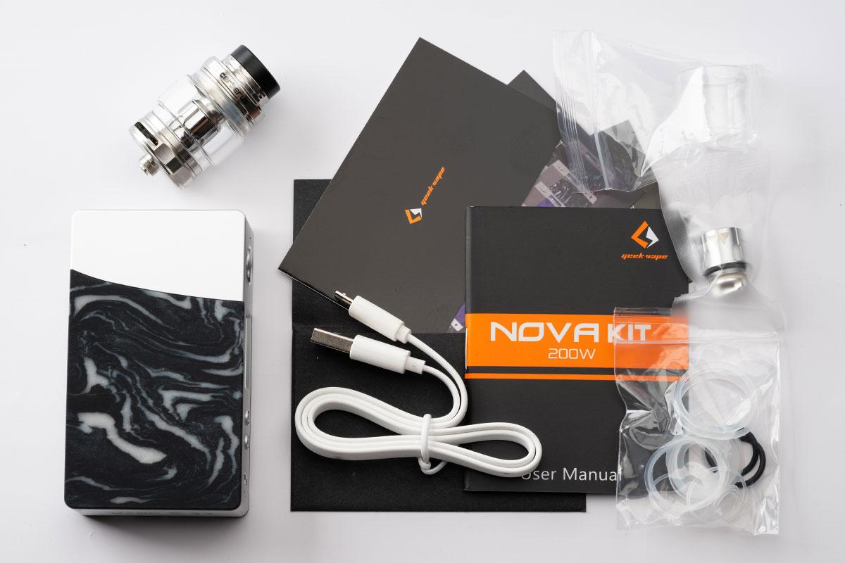 Geekvape NOVA Kirレビュー(ギークベイプ ノヴァキット)