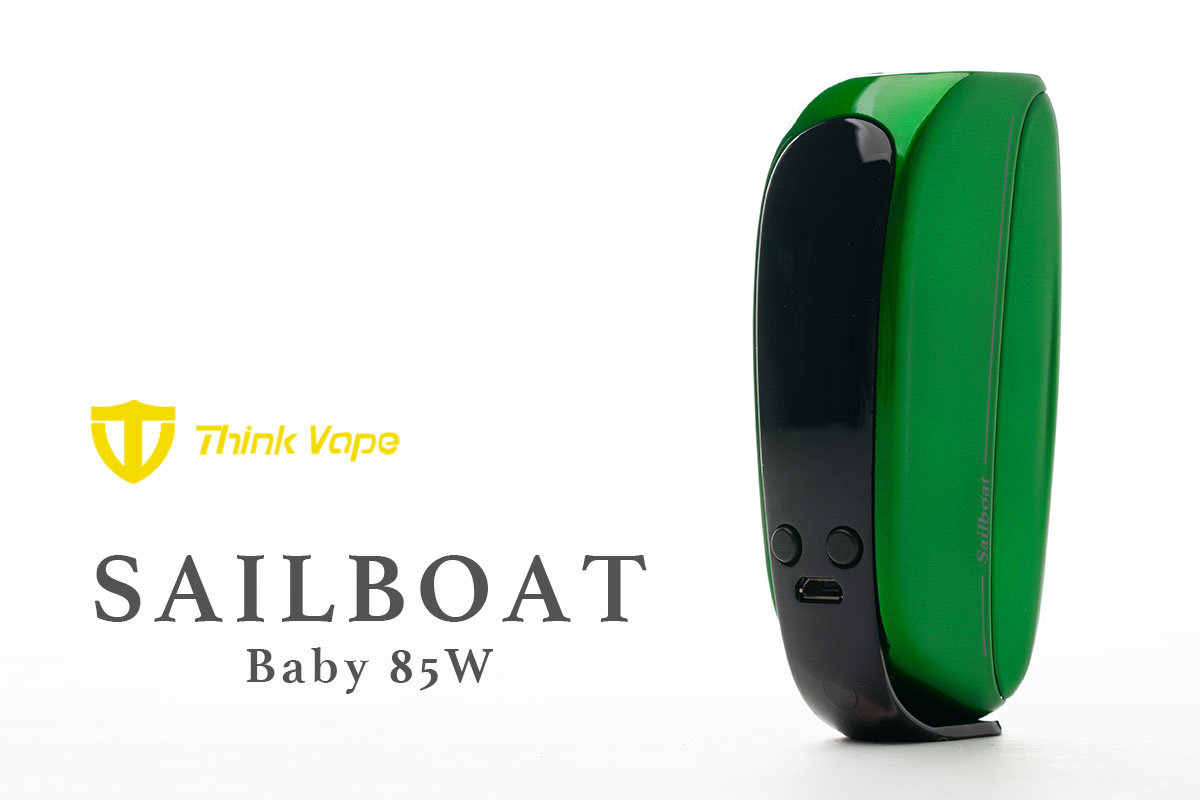 Think Vape Sailboat Baby 85Wレビュー