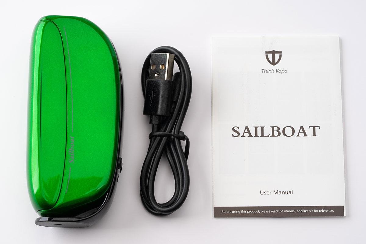 Think Vape Sailboat Baby 85Wレビュー