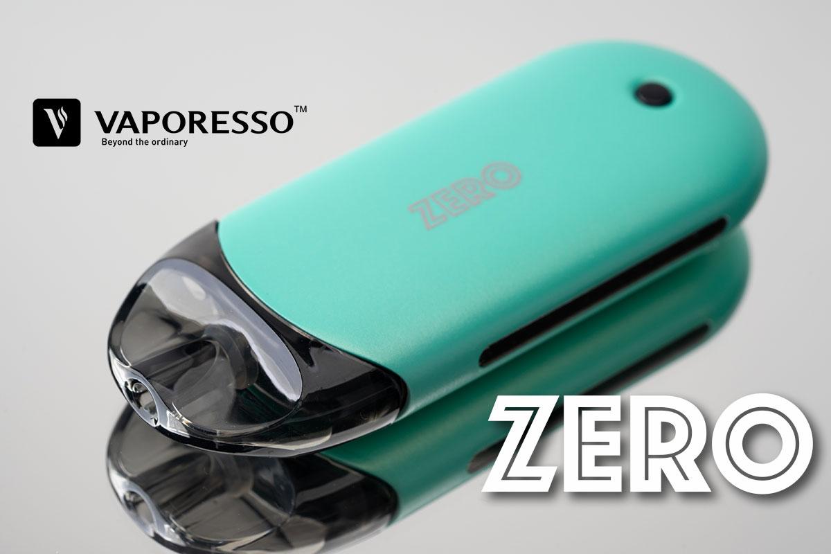 【Vaporesso ZEROレビュー】ベパレッソ ゼロ