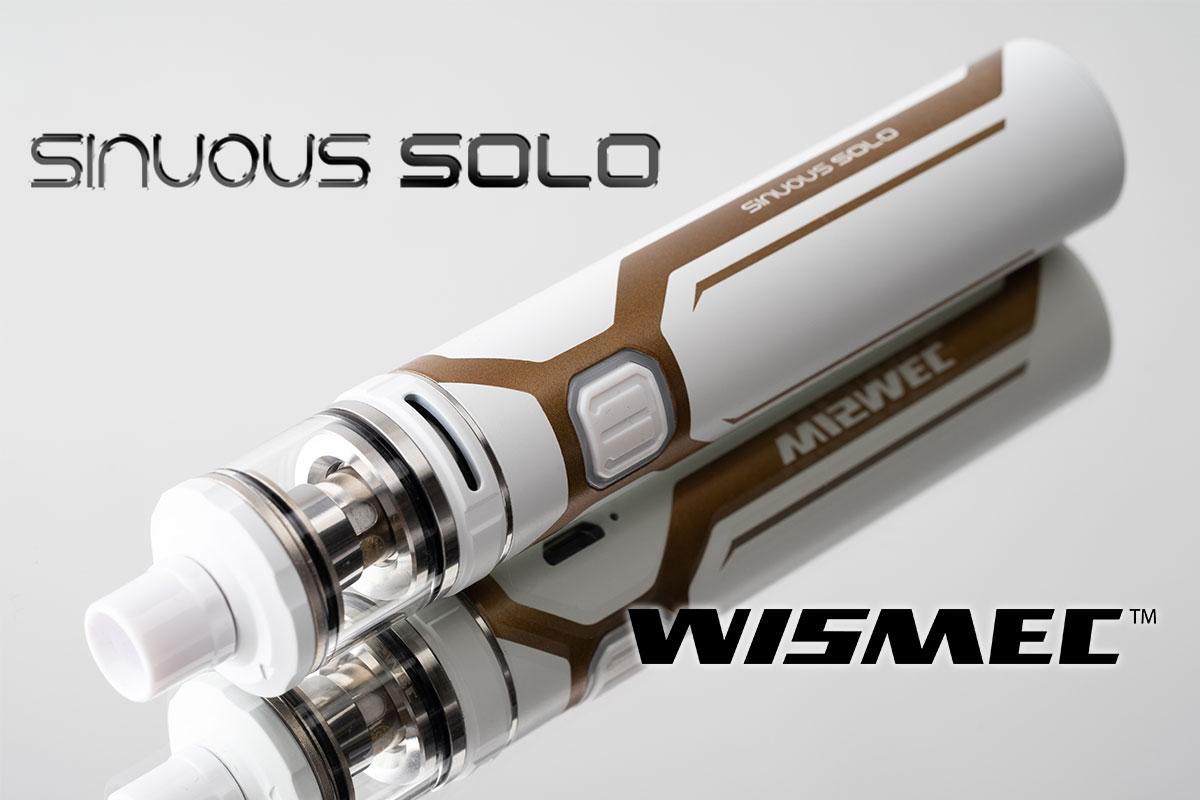 WISMEC SINOUS SOLOレビュー(ウィスメック シノウス ソロ)