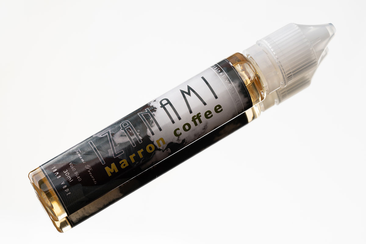 【IZANAMI Marron coffeeレビュー】TAMA VAPE イザナミ マロンコーヒー