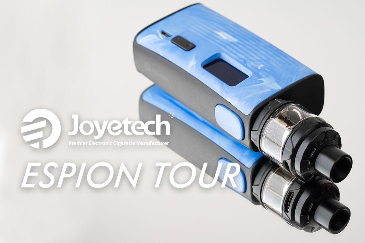 【Joyetech ESPION TOURレビュー】ジョイテック エスピオン ツアー