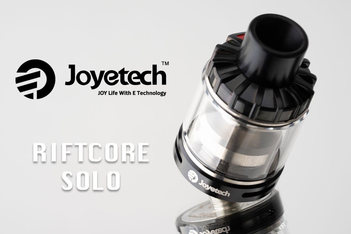【Joyetech RIFTCORE Solo レビュー】ジョイテック リフトコア ソロ アトマイザー