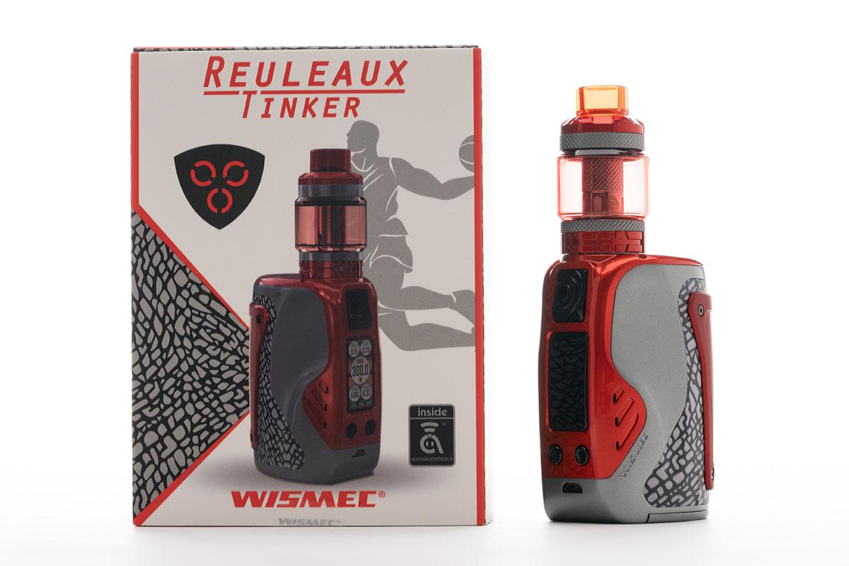 【WISMEC REULEAUX TINKERレビュー】ウィスメック ルーロー ティンカー