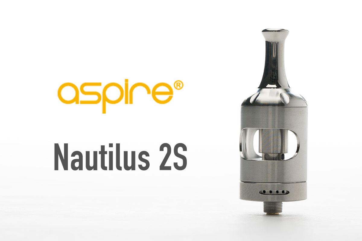 【aspire Nautilus 2S レビュー】アスパイア ノーチラス2Sタンク