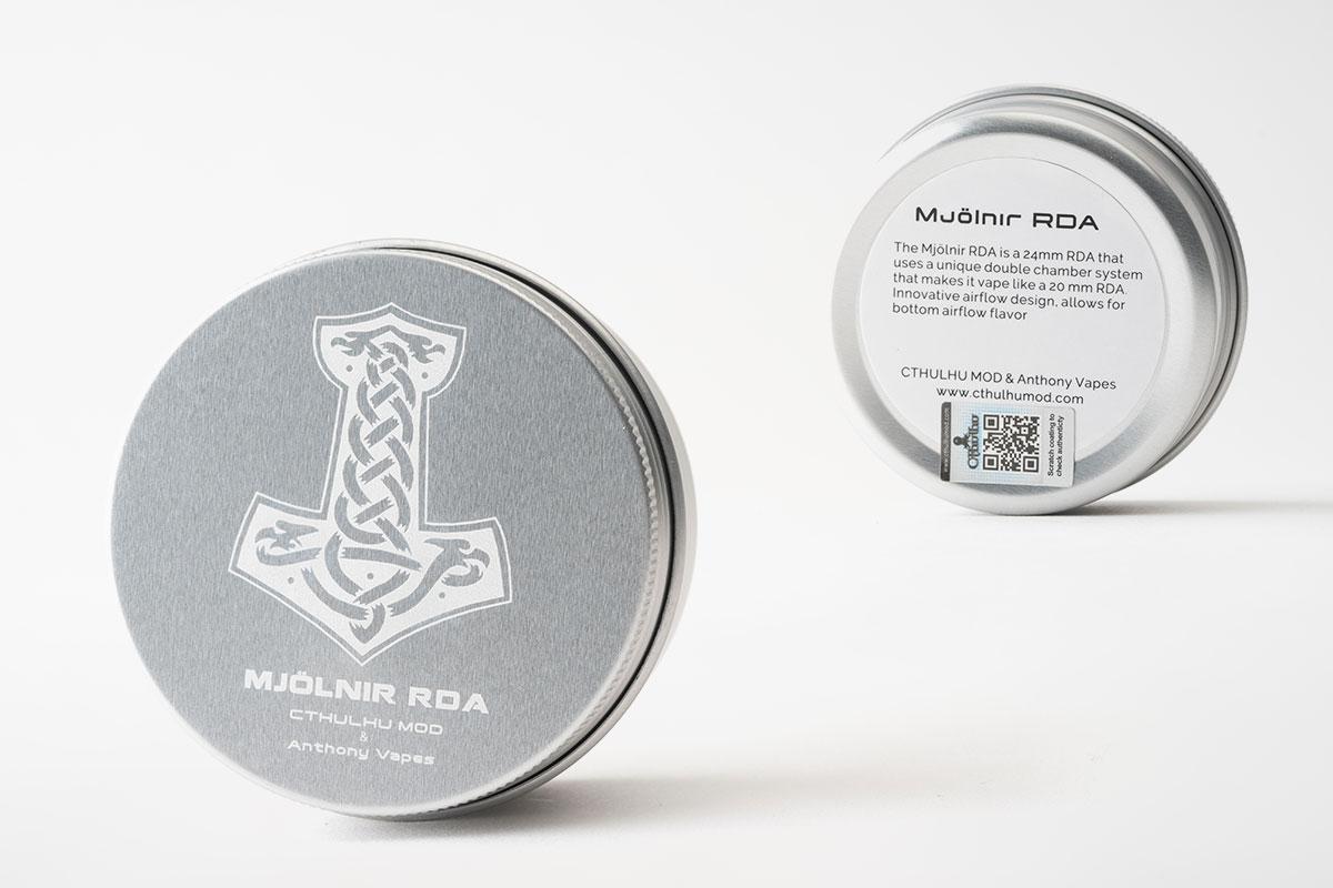 【Cthulhu Mjölnir RDA レビュー】クトゥルフ ミョルニル