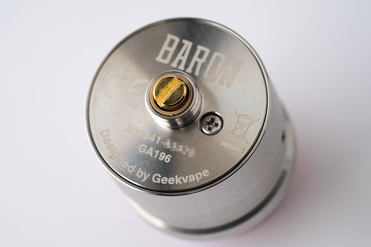 【Geekvape BARON RDA レビュー】ギークベイプ バロン