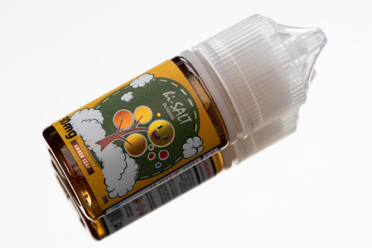 HiLIQ hi-Salt AMBER LEAF アンバーリーフ レビュー