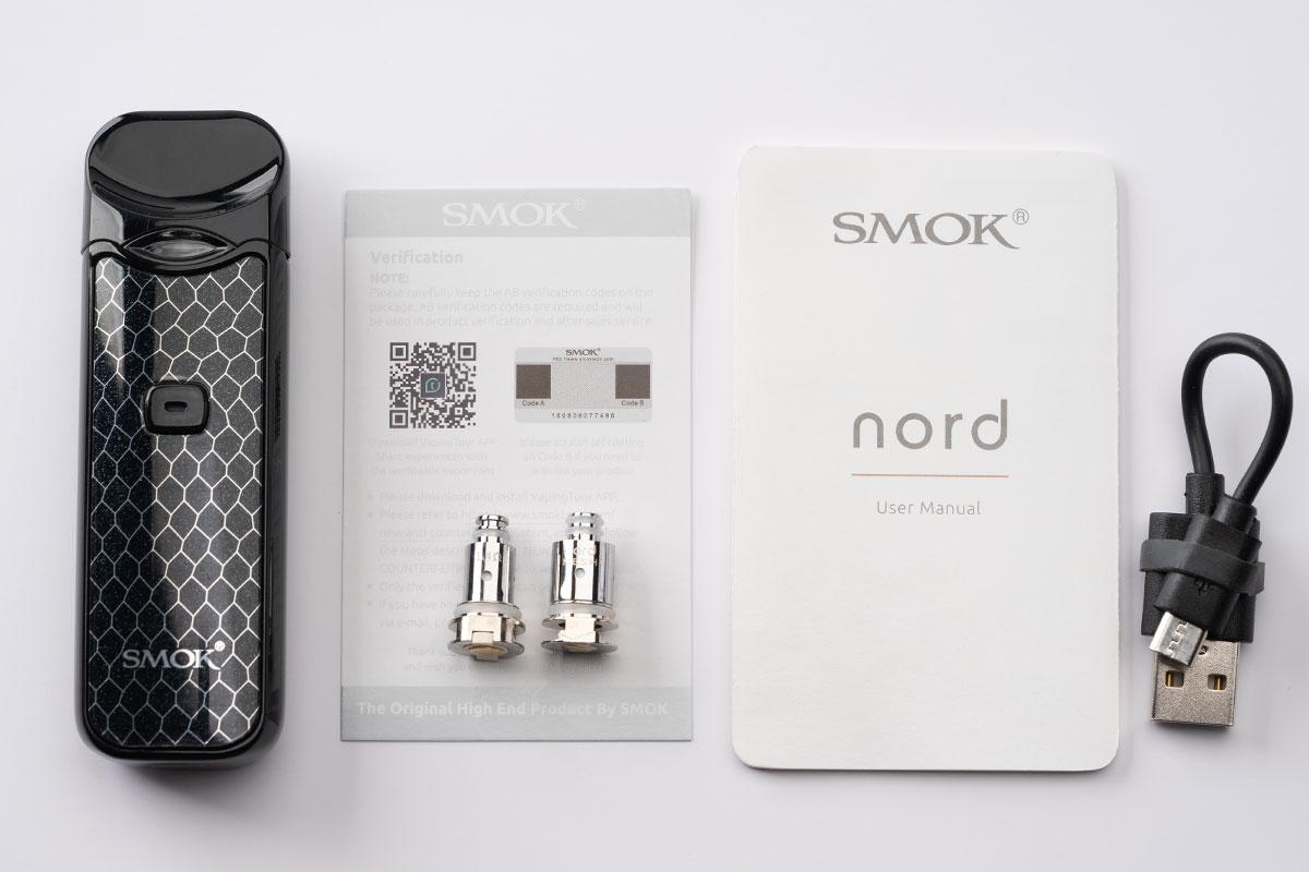 【SMOK nordレビュー】スモック ノード