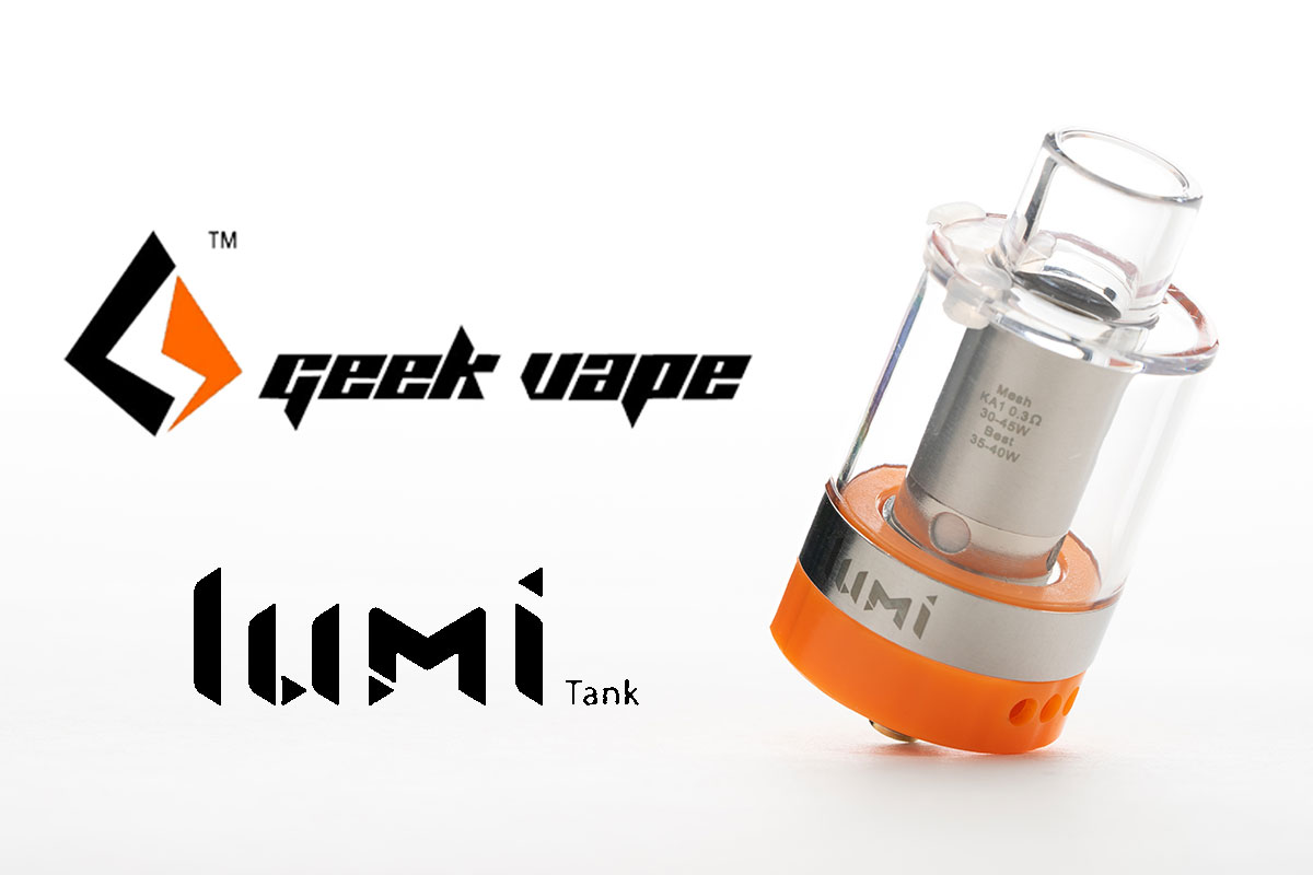 【geekvape lumi tank レビュー】ギークベイプ ルミタンク