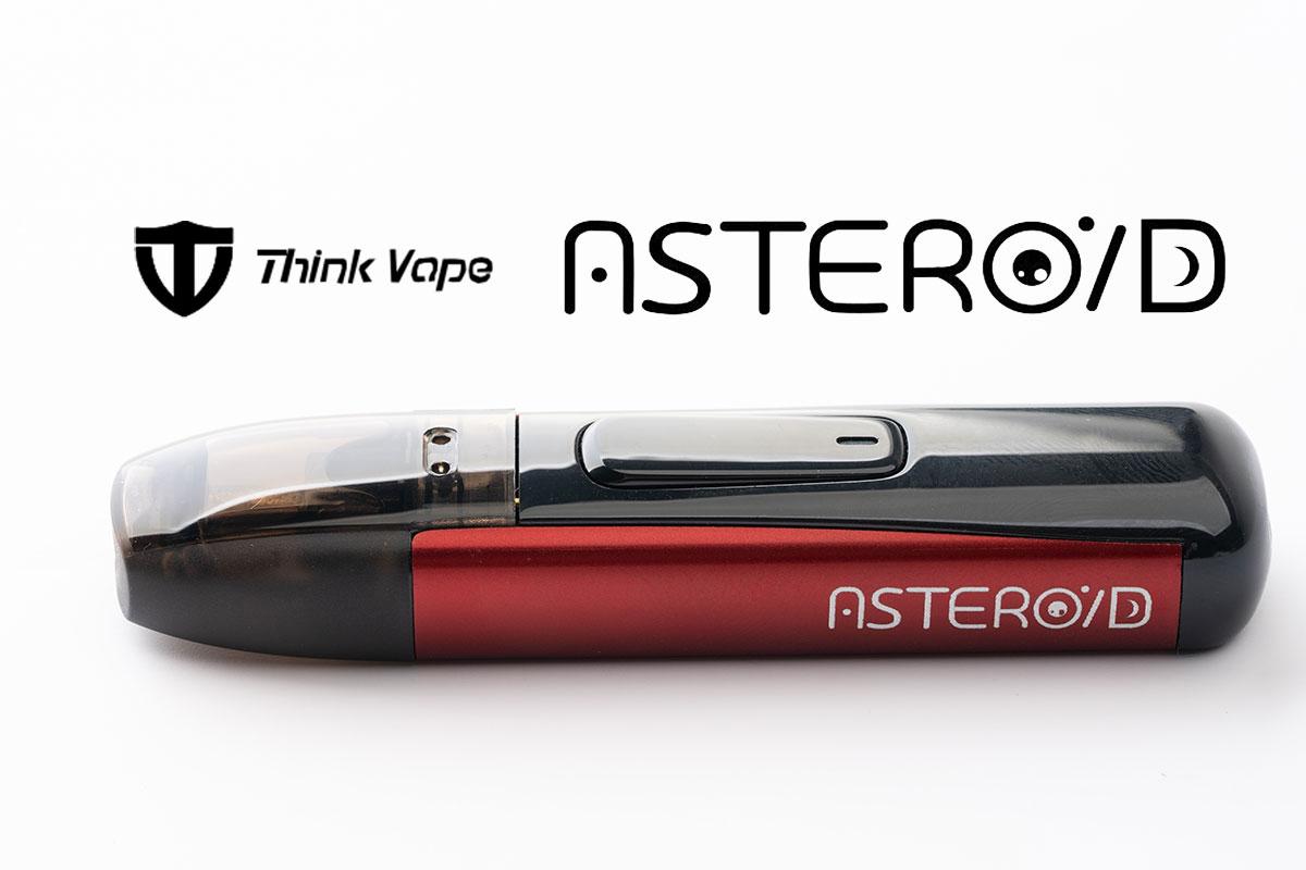 【Think vape Asteroidレビュー】シンクベイプ アステロイド