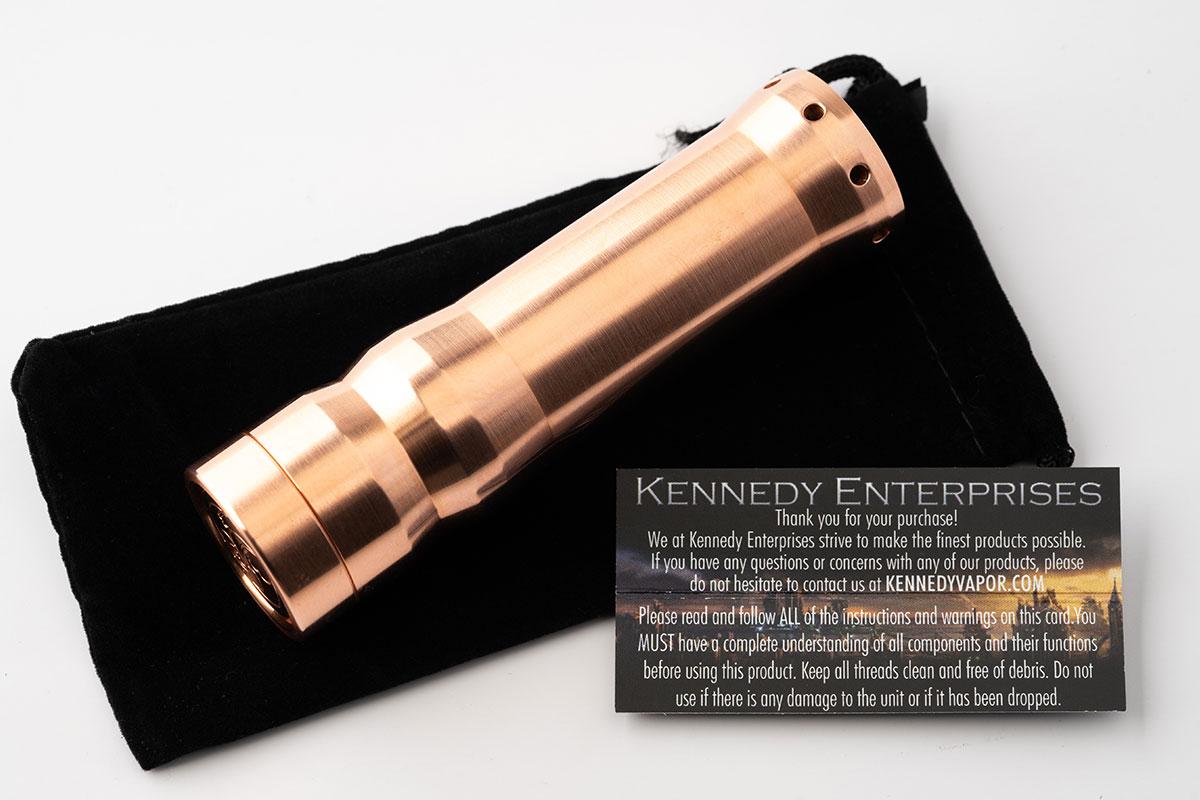 【KENNEDY Vindicator 21700 レビュー】ケネディー ヴィンディケーター21700