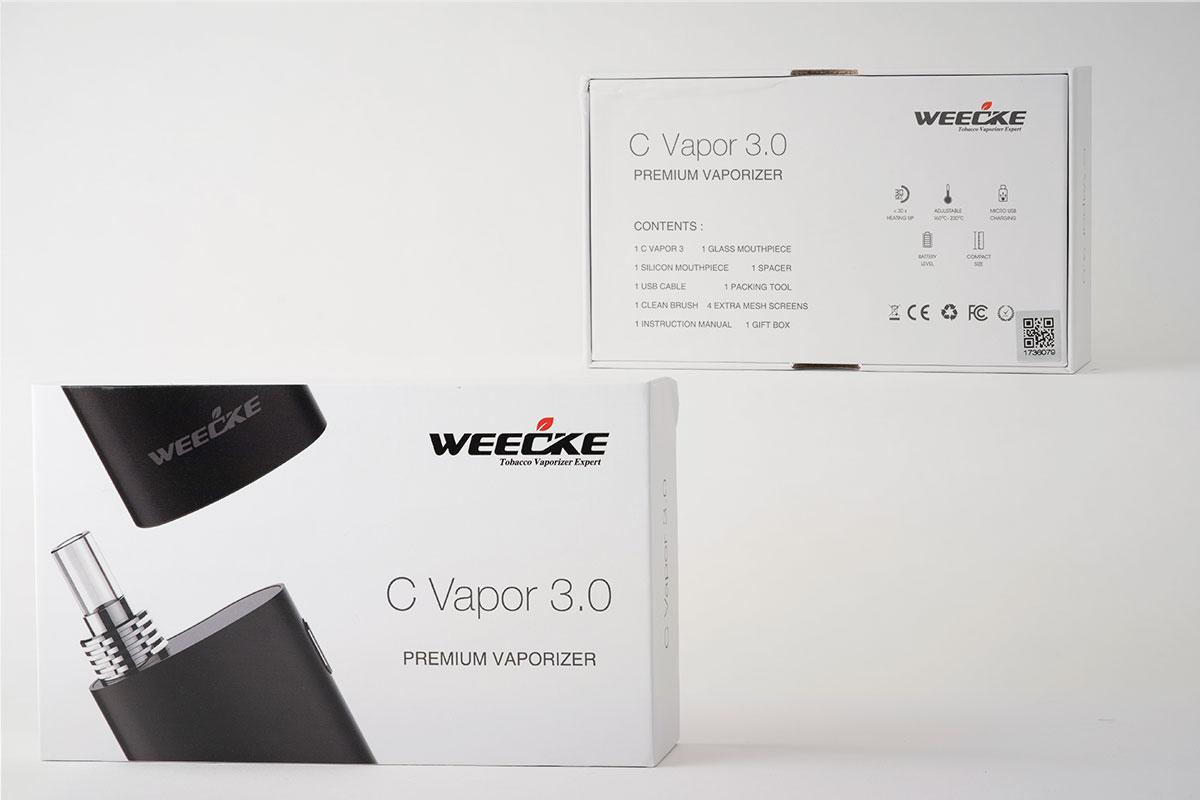 【WEECKE C-VAPOR3.0 レビュー】ウィーキー シーベイパー3