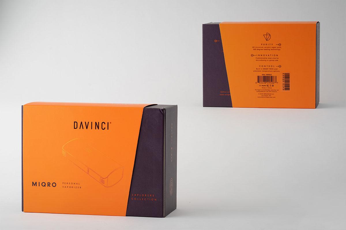 【DAVINCI Miqroレビュー】ダヴィンチ マイクロのパッケージデザイン