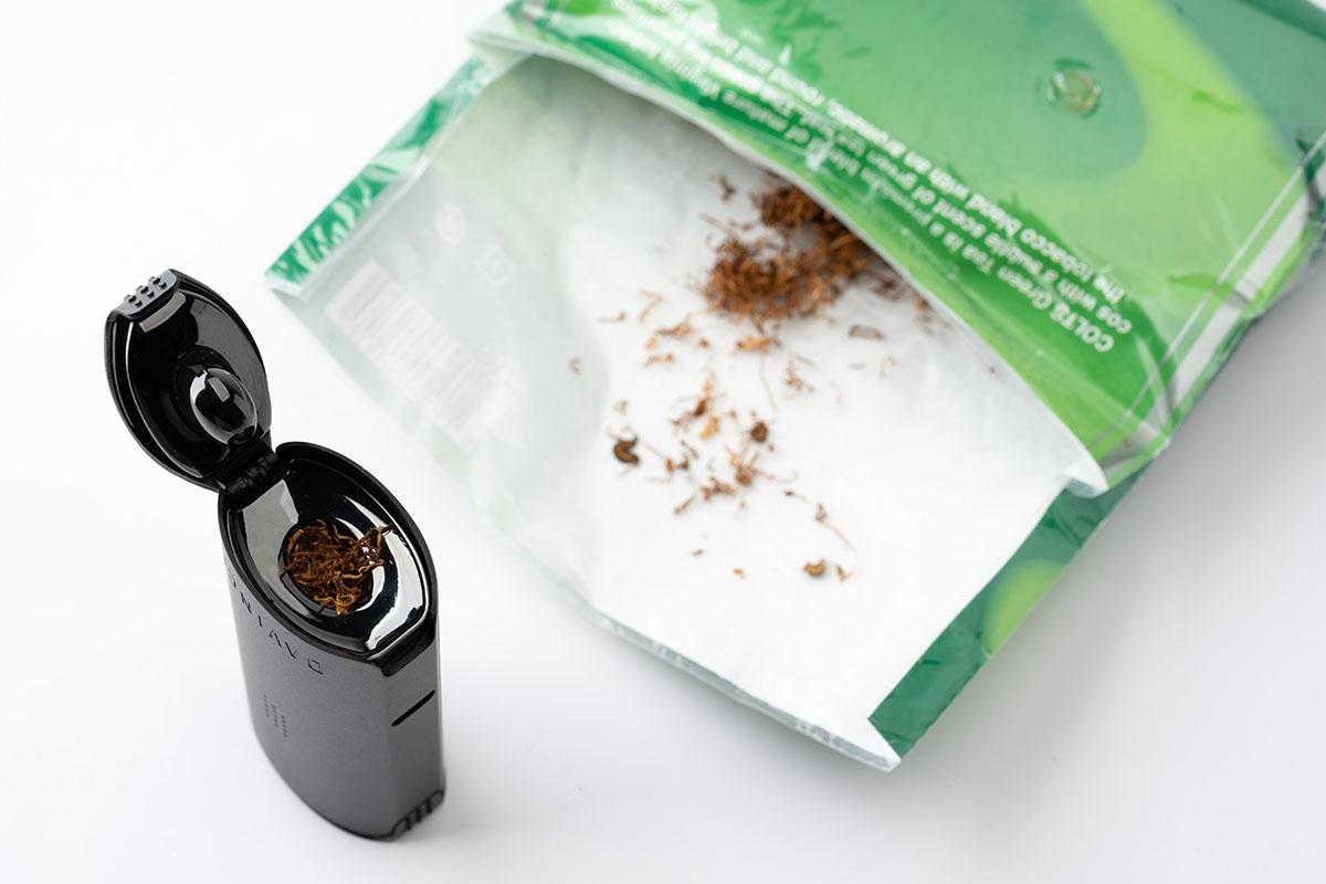 【DAVINCI Miqroレビュー】ダヴィンチ マイクロにタバコを詰める