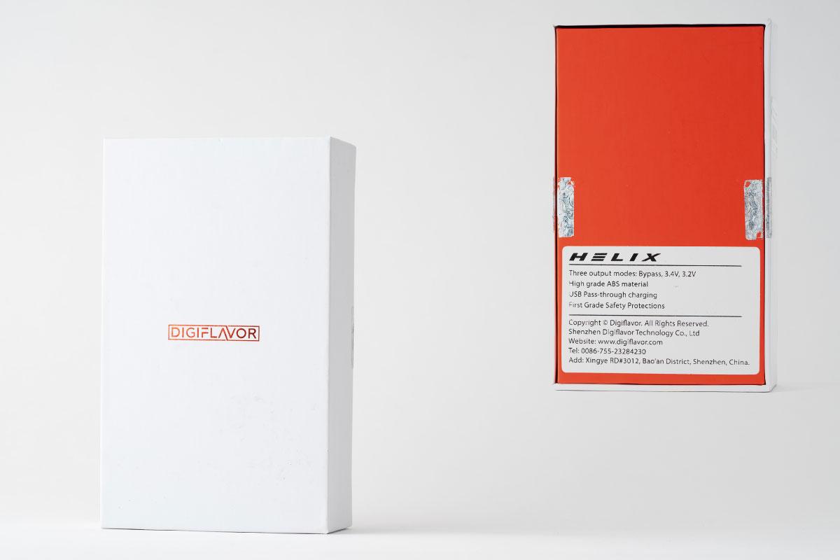 DIGIFLAVOR Helixのパッケージデザイン