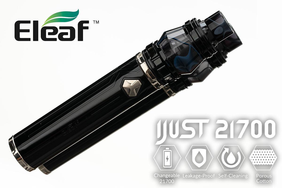 【EleafF iJust21700 レビュー】イーリーフ アイジャスト21700