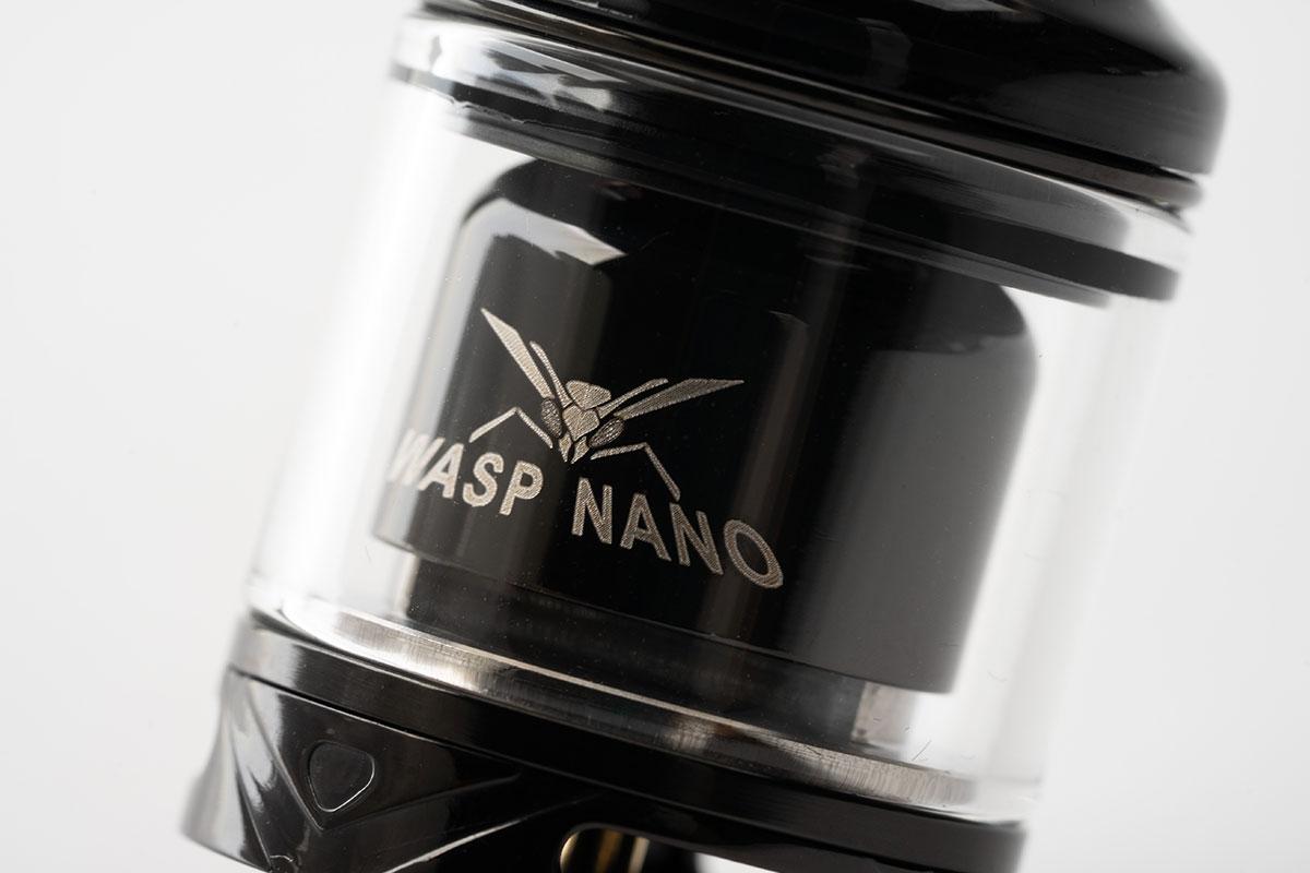 【OUMIER WASP NANO RTA レビュー】オウミヤー ワスプナノ タンク