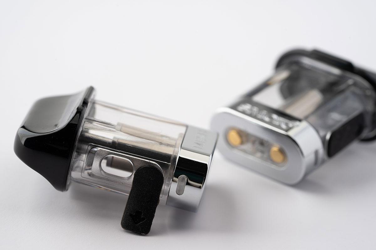 SMOK MICO KitのPODリキッドチャージホール