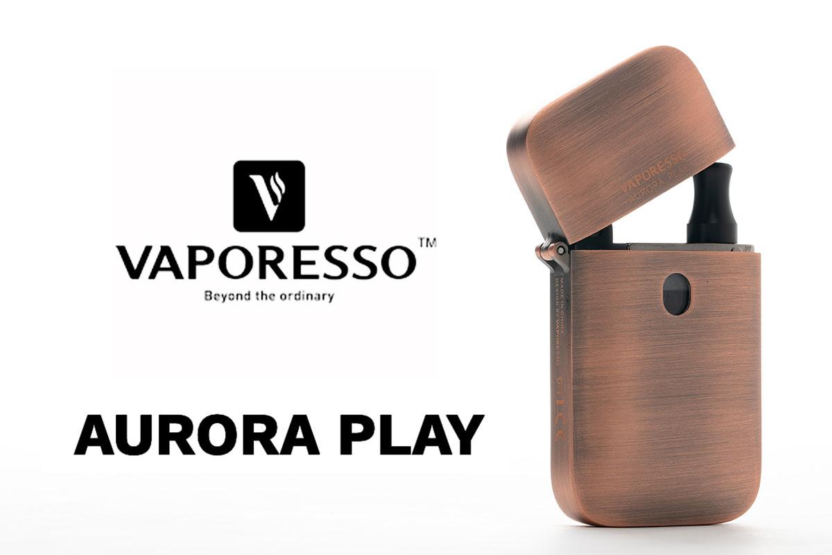 VAPORESSO AURORA PLAY レビュー