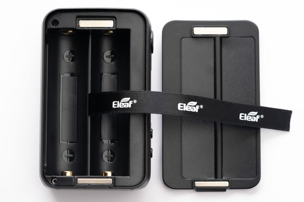 Eleaf iStick MIXのバッテリー収納部