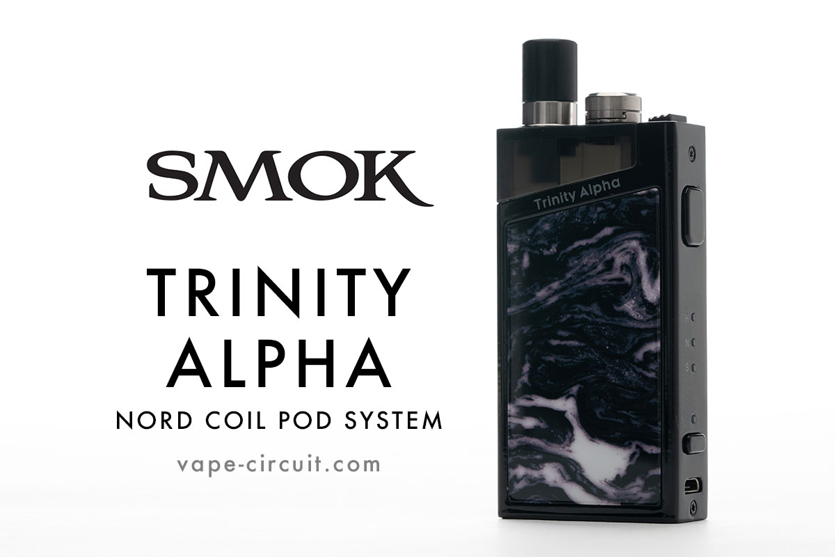 SMOK Trinity Alpha レビュー