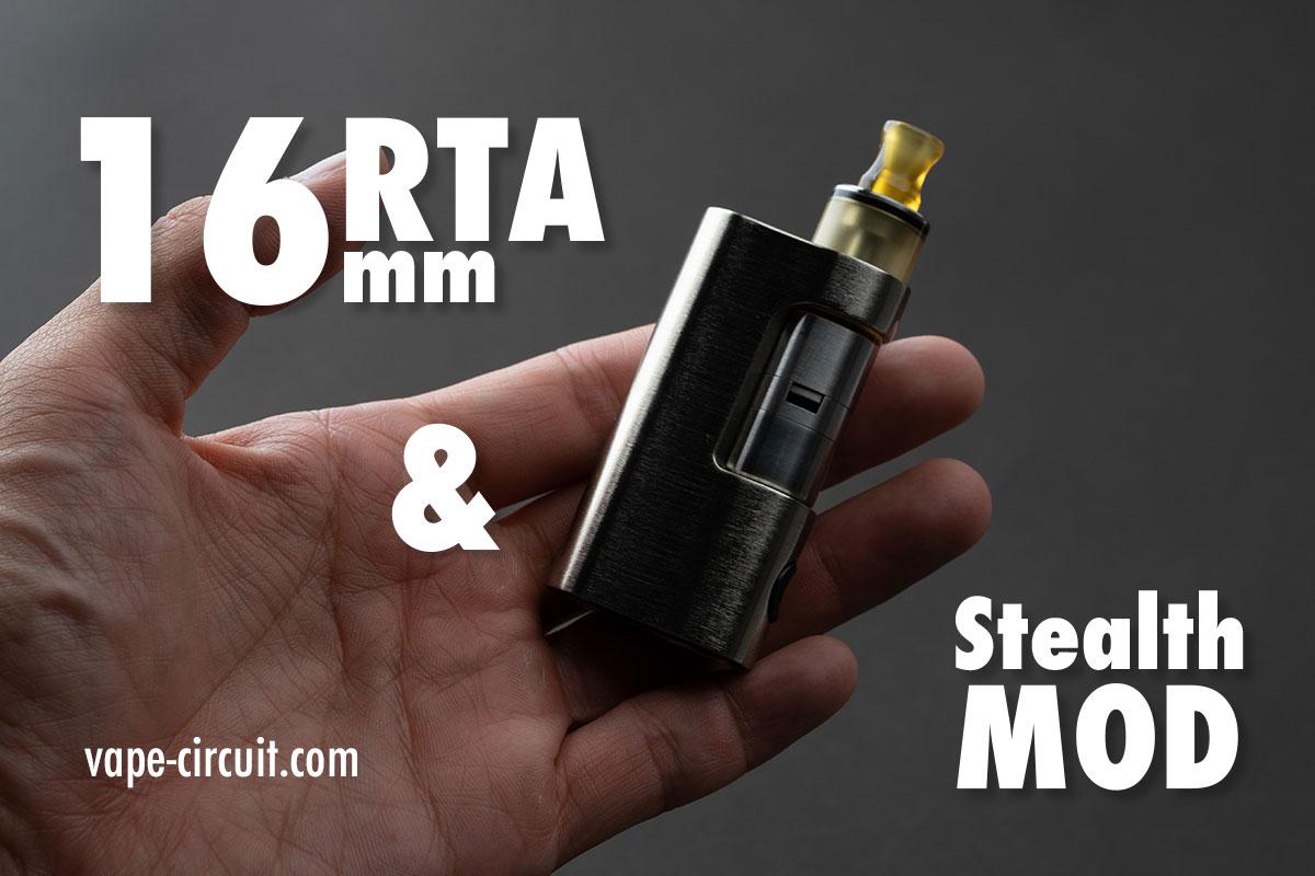 超小型ステルスMODで16mmRTAをコンパクトに持ち運ぶ!
