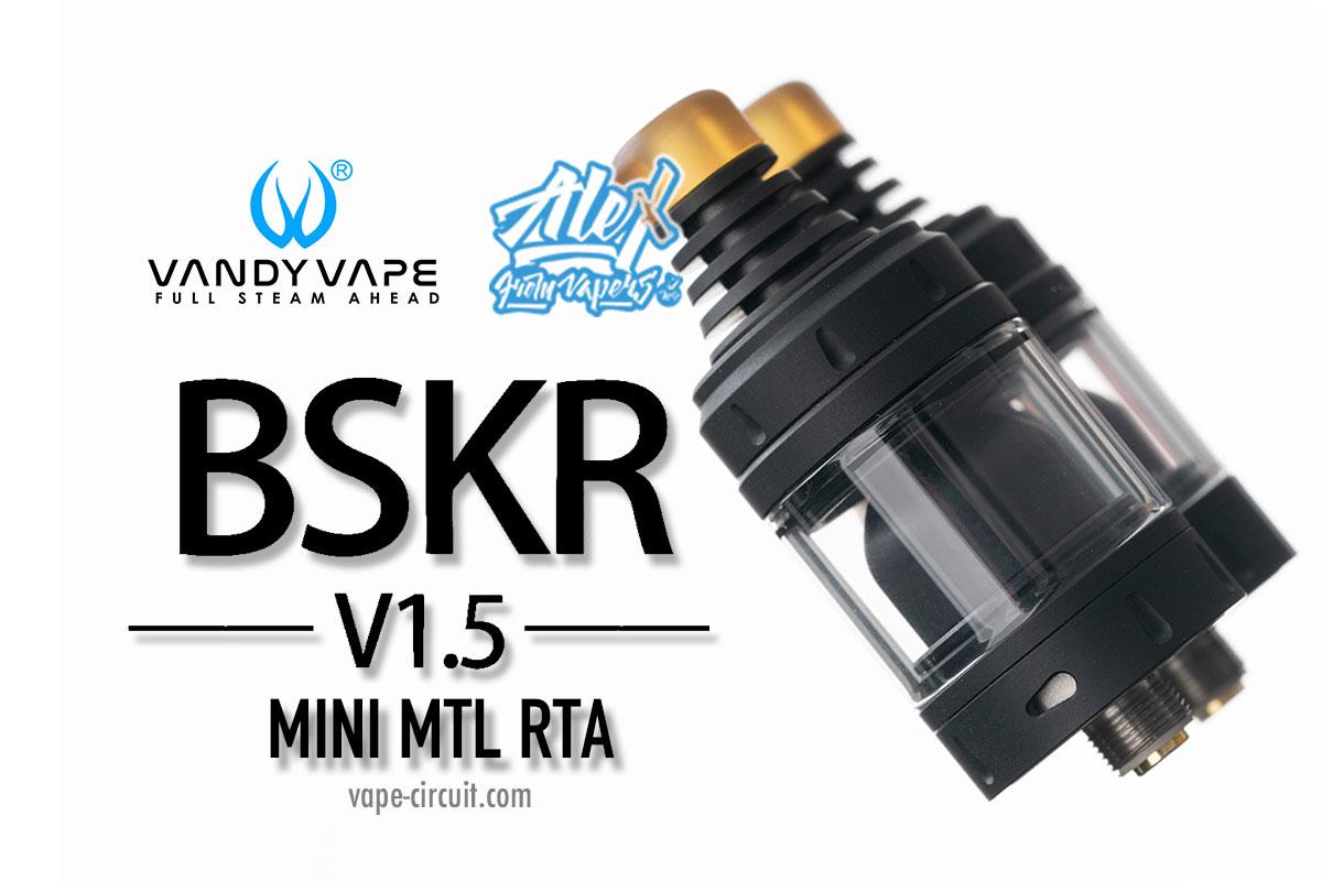 Vandy Vape BERSERKER V1.5 MINI MTL RTA レビュー