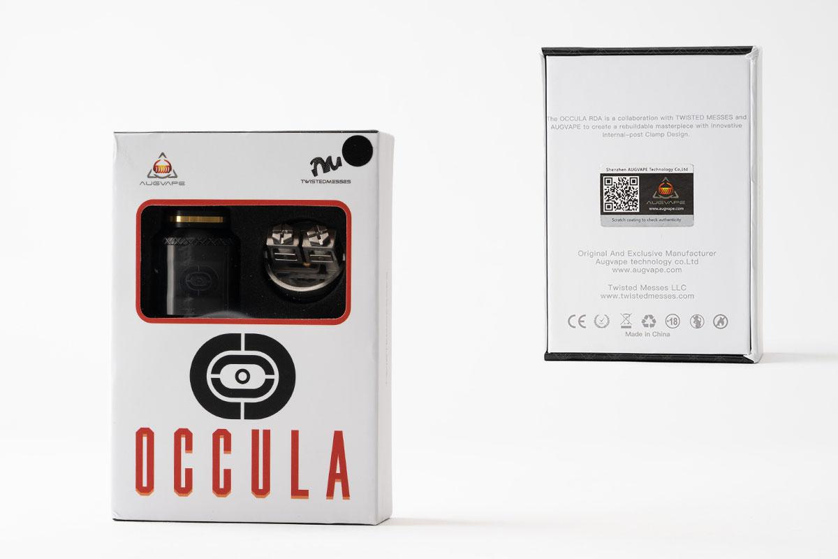 AUGVAPE OCCULA RDAのパッケージ
