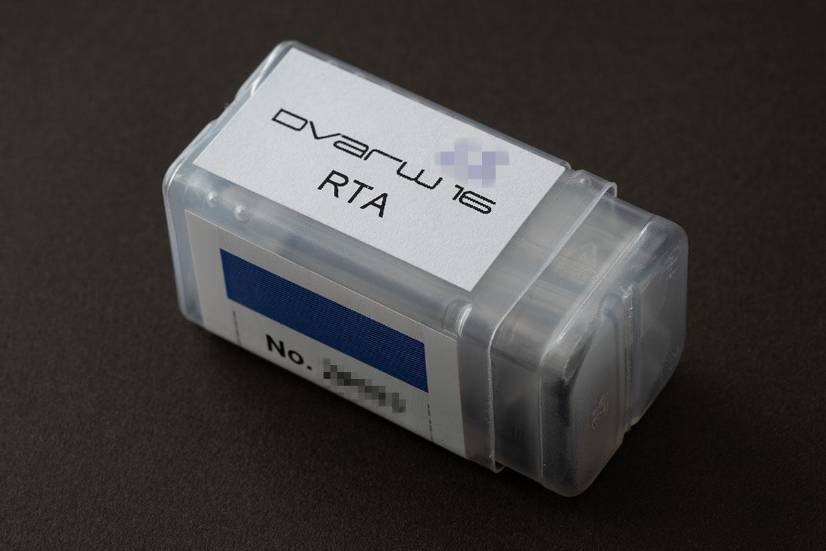 Dvarw 16 RTAのパッケージ1