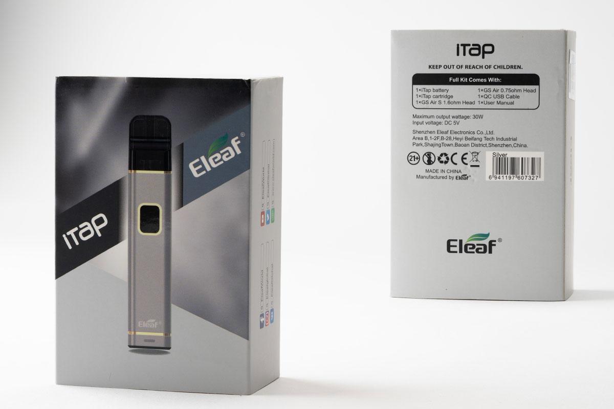 Eleaf iTap レビュー