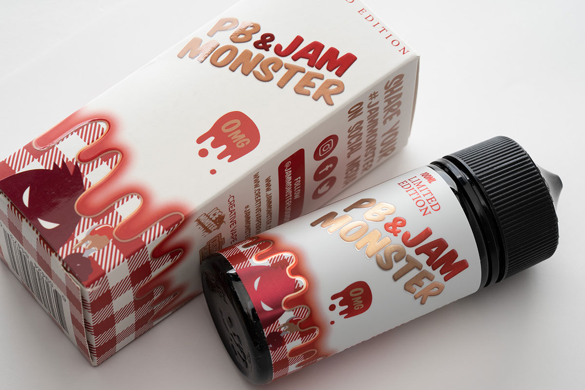 Jam Monster PB&Strawberry Jam レビュー