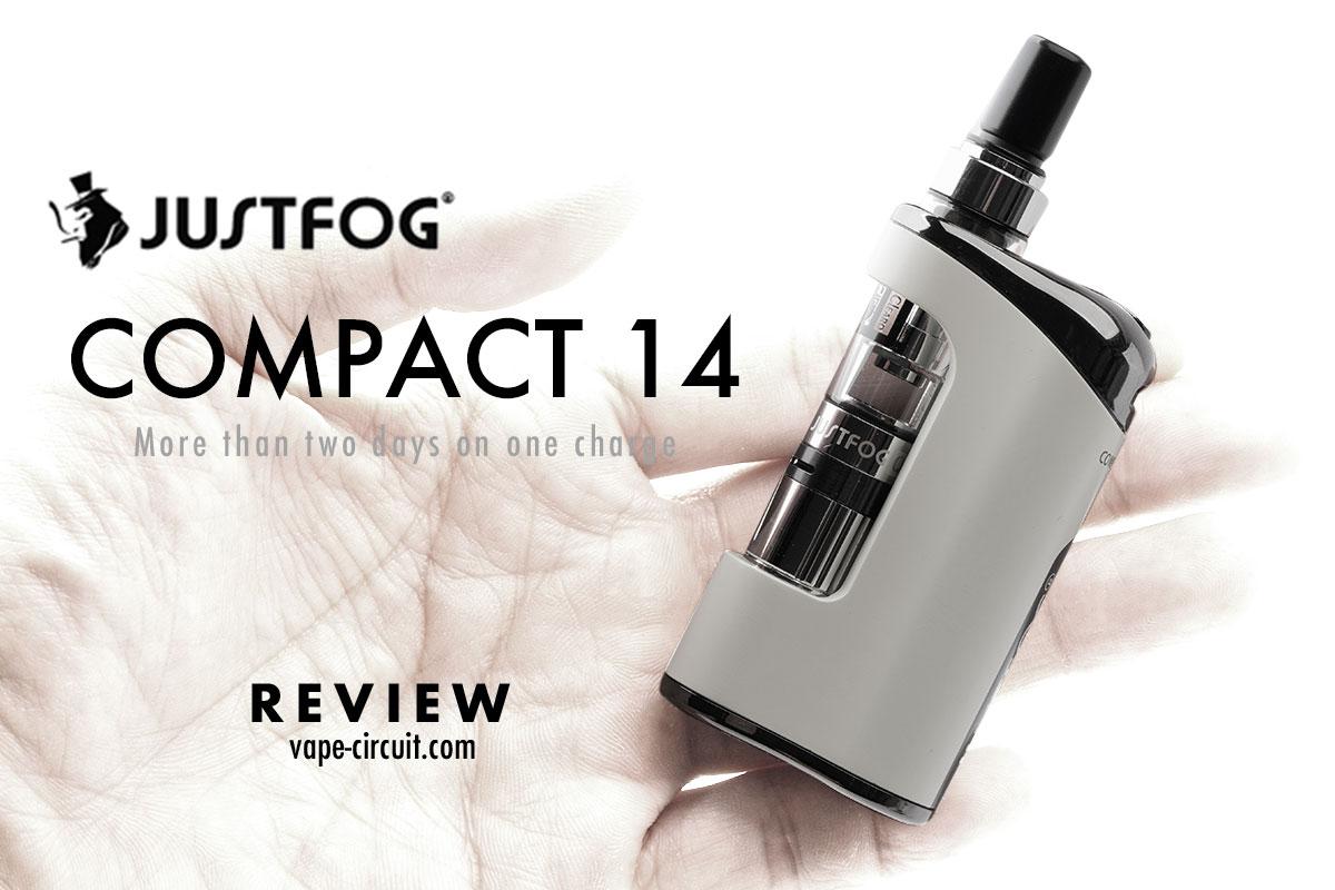 Justfog Compact 14 レビュー