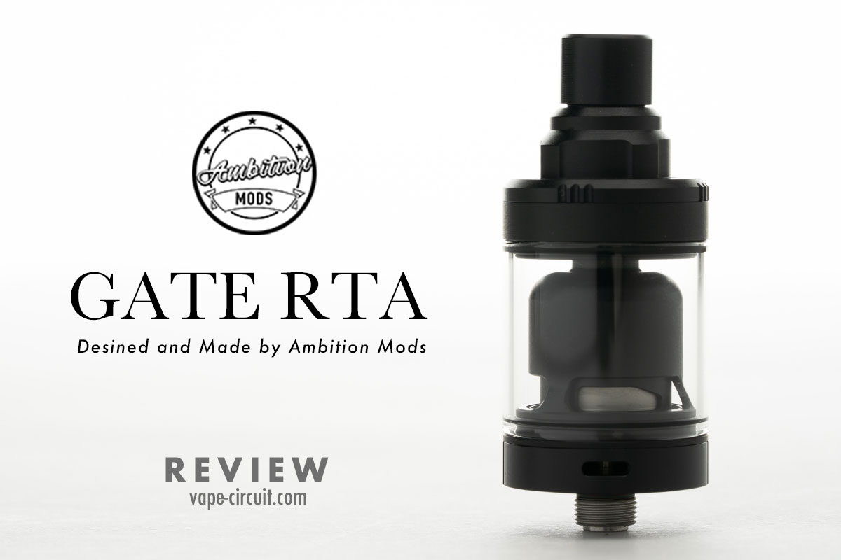GATE MTL RTA 22mm レビュー