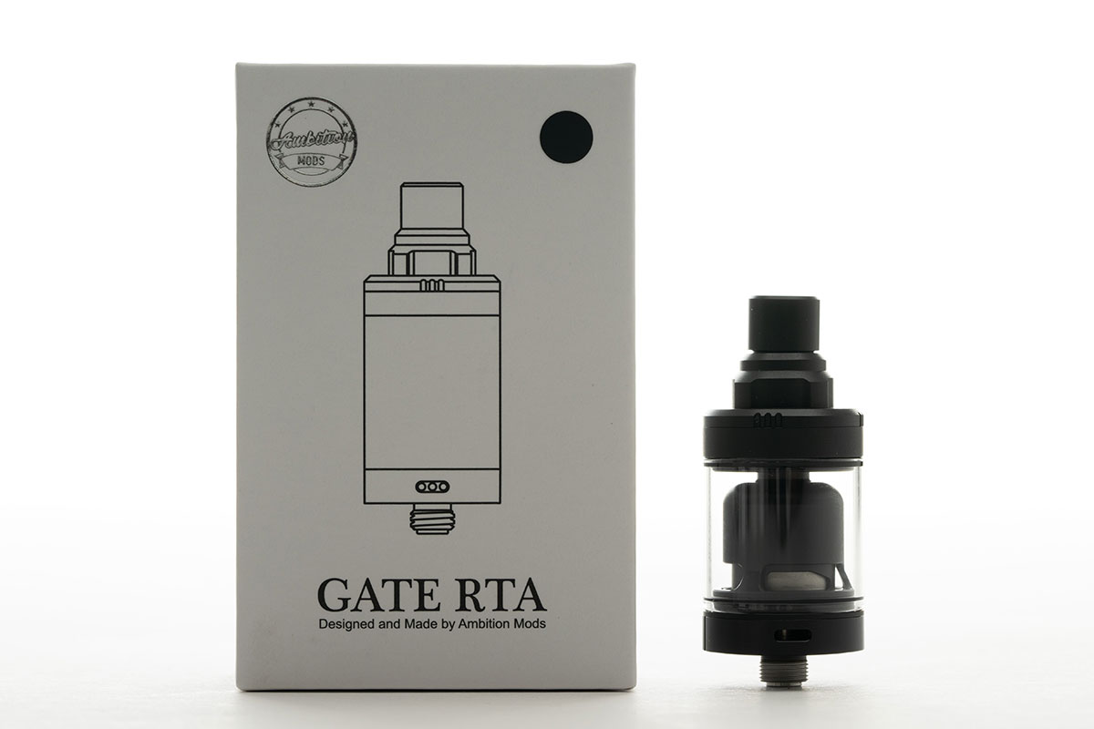 GATE MTL RTA 22mm レビュー Ambition Mods